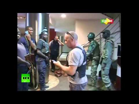 Police Pull Out Hostages From Radisson Hotel In Bamako, Mali   Raw Video