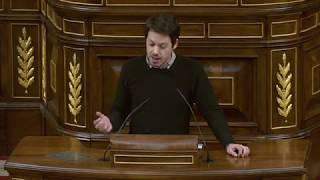 Segundo González en el debate del Real Decreto-ley 25/2018, de 21 de diciembre.