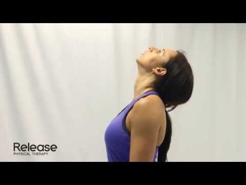 Cervical Spine Retraction & Extension - McKenzie Exercise for Neck