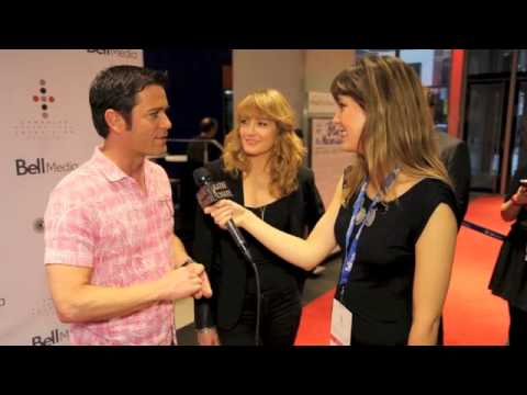 KATIE CHATS: CITF13, YANNICK BISSON & HELENE JOY, ACTORS, MURDOCH MYSTERIES