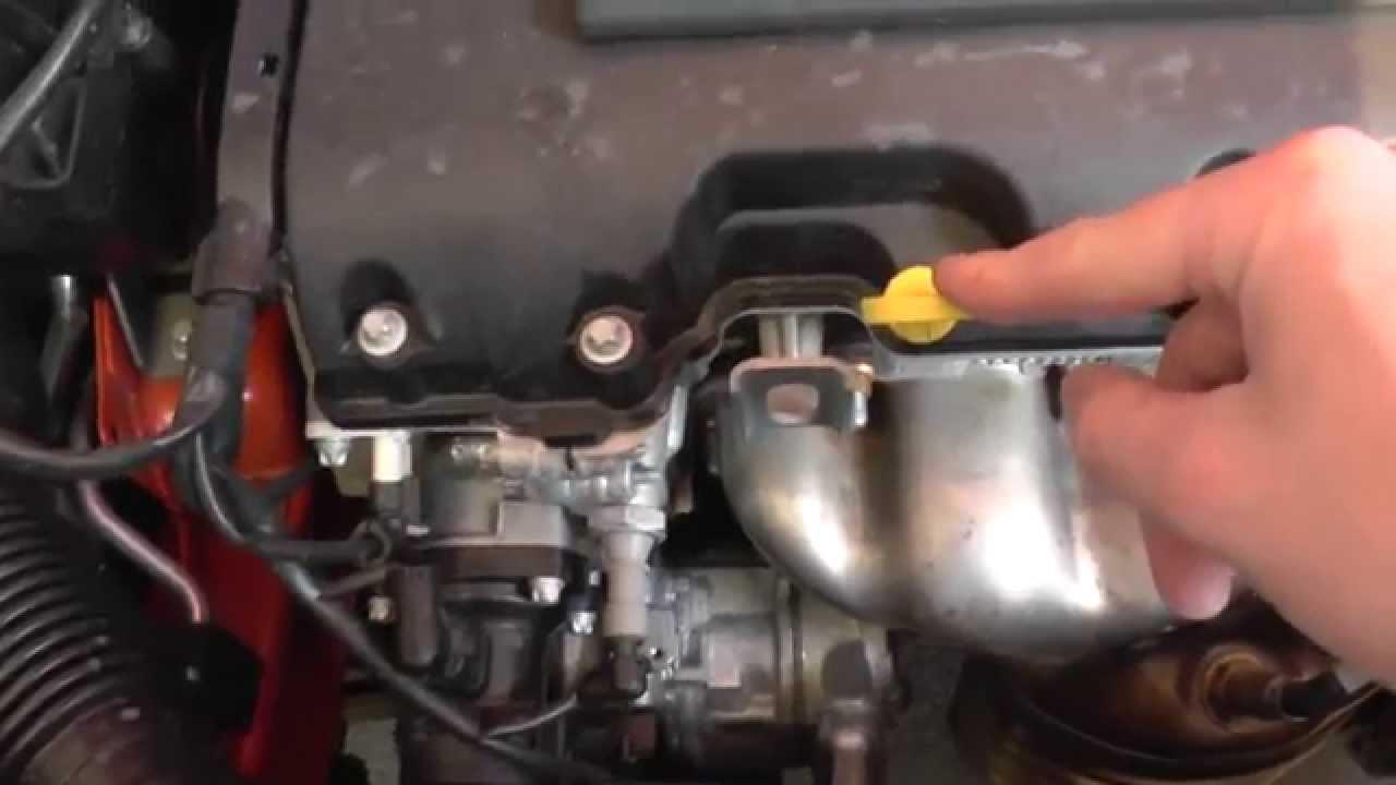 Vauxhall Opel Corsa E Dipstick Engine Oil Level Check ...