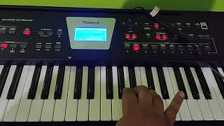 Maa tume jagatara Saha bharasa ||  Keyboard tutorial