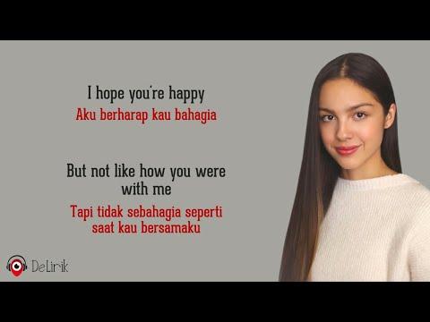 Download Happier - Olivia Rodrigo (Lirik Lagu Terjemahan) - TikTok I hope you're happy but don't be happier