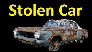Share this Video Help find a Stolen Car ~ Classic Mopar Theft