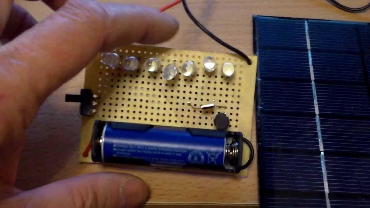Qx5252 Fet Based Solar Light Part 2