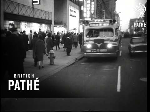 Newspaper And Transport Strikes In Philadelphia And New York   (1963)