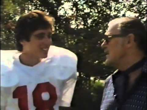 Atlanta Falcons' Mick Luckhurst UK TV Interview circa 1985