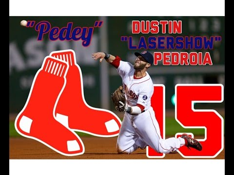 "Dustin Pedroia | ""Laser Show"" 
