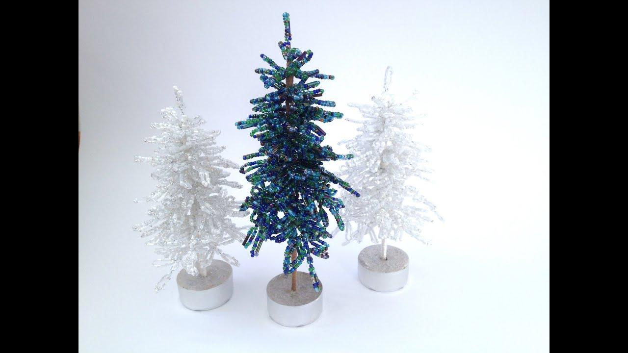 diy blaufichte fichte tannenbaum aus perlen teil 1 2. Black Bedroom Furniture Sets. Home Design Ideas