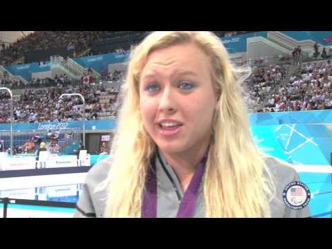 Jessica Long wins fourth gold medal - London 2012 Paralympic Games