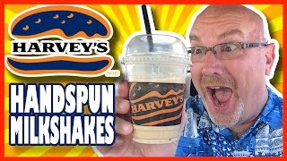 Harvey's Handspun Milkshakes - Chocolate, Cappuccino And Neapolitan