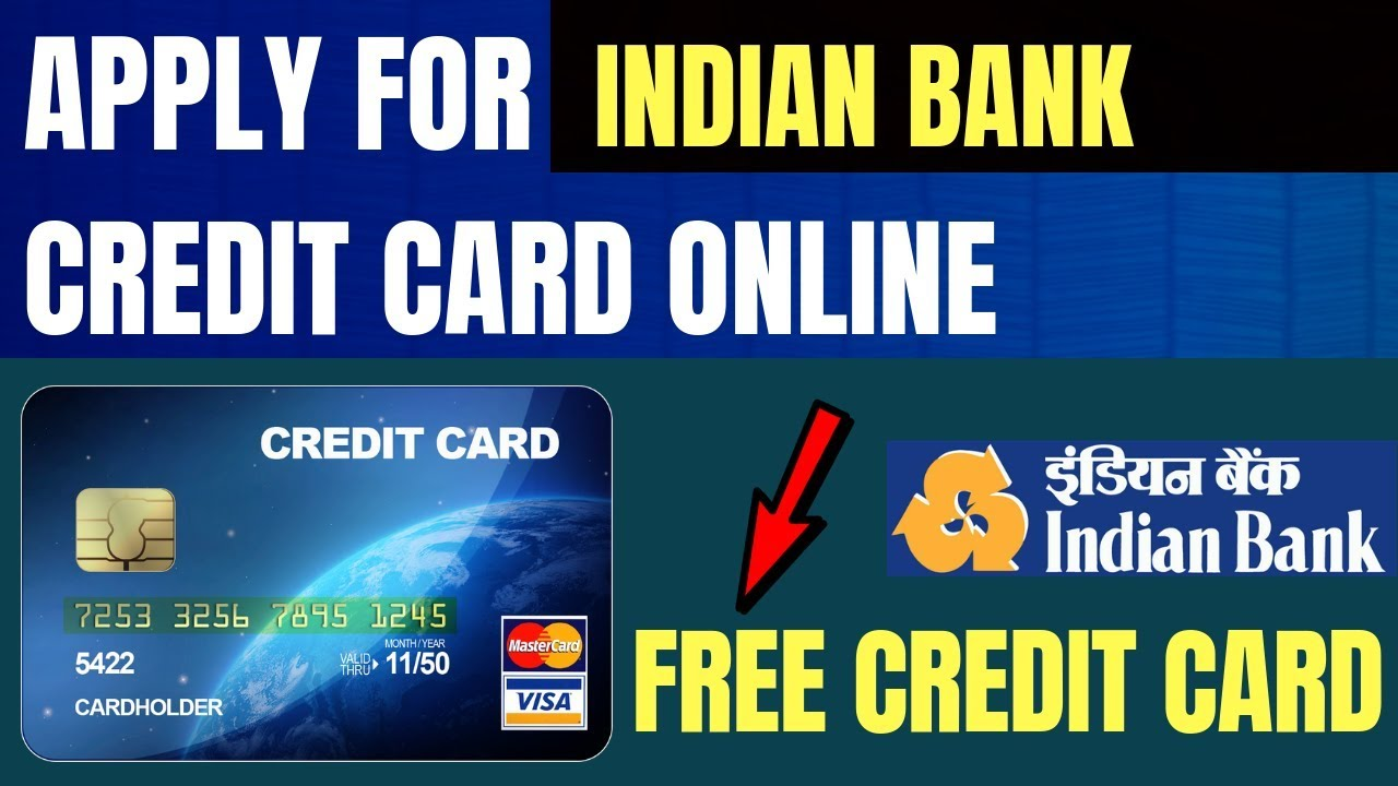 Ly Indian Bank Credit Card How To