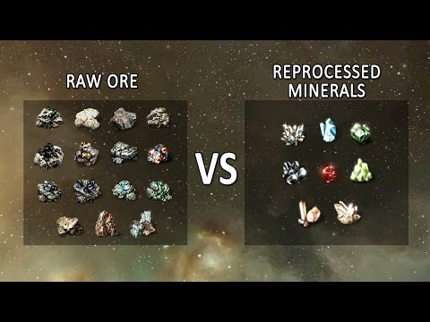 EVE Online: Selling Raw Ore vs Reprocessing