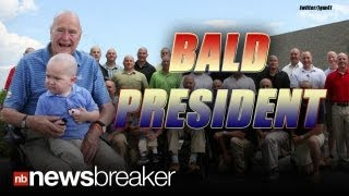 BALD PRESIDENT: George H. W. Bush Shaves His Head to Support Boy Battling Cancer