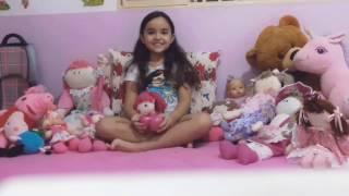 Amo minhas bonecas de pano!
