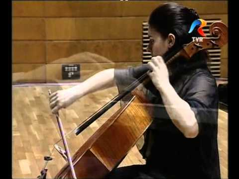 George Enescu - sonata no 2 for piano and cello (3rd movement) - Laura Buruiana and Andrei Vieru