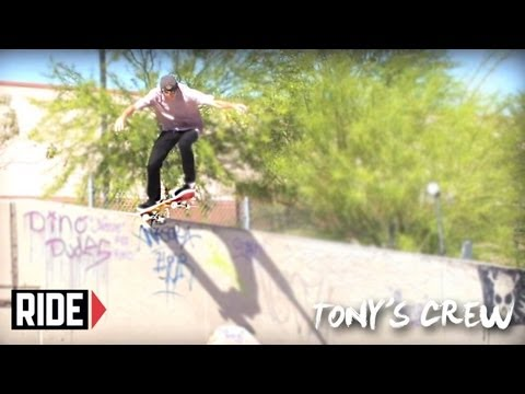 "Aaron ""Jaws"" Homoki & Birdhouse Crew Skate Arizona - Tony's Crew"