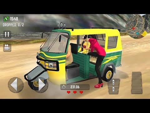 Offroad Tuk Tuk Hill Game | Tourist Auto Rickshaw - Tuk Tuk Auto Rickshaw Game - kids Games
