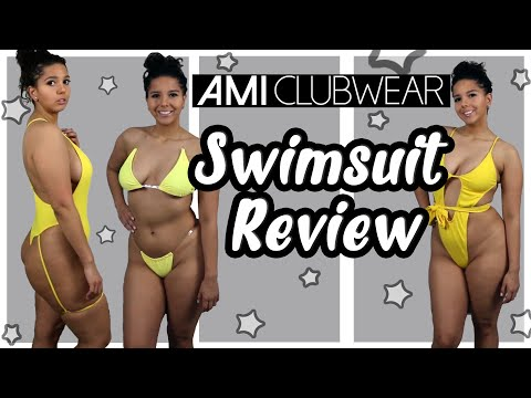 AMIClubwear 2019 Swimsuit Collection Review