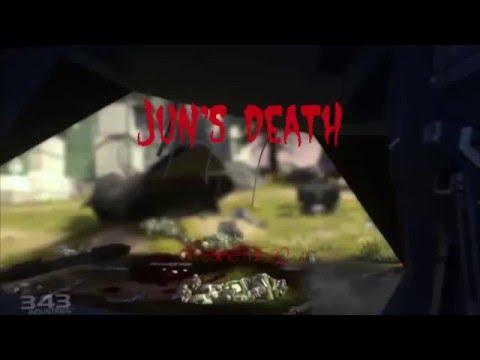 Jun's death (after fall of reach)