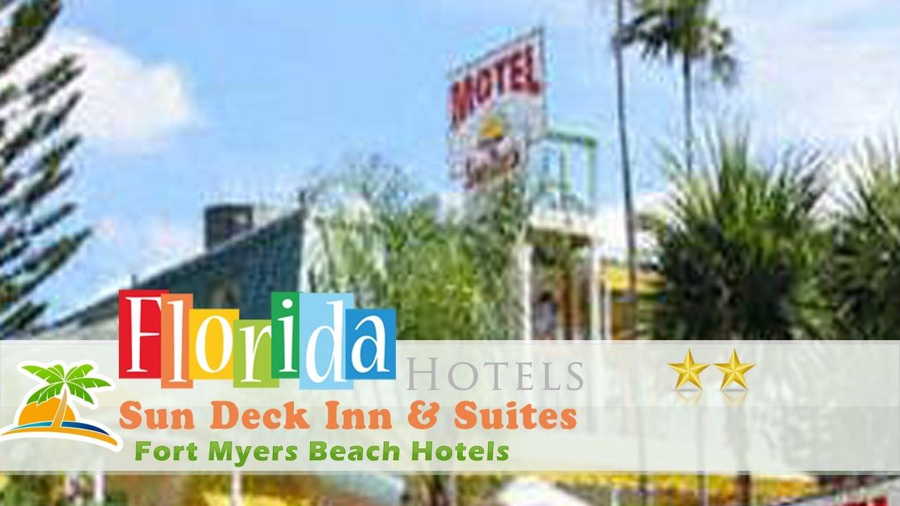 Sun Deck Inn Suites Fort Myers Beach Hotels Florida