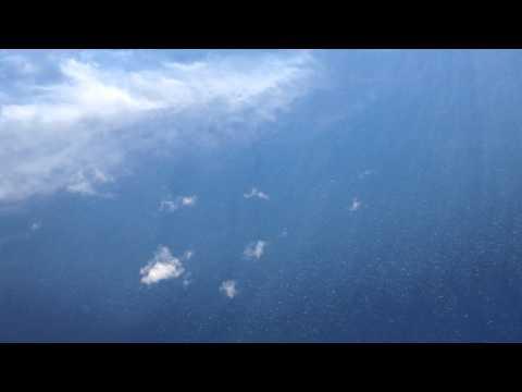 Above the ocean