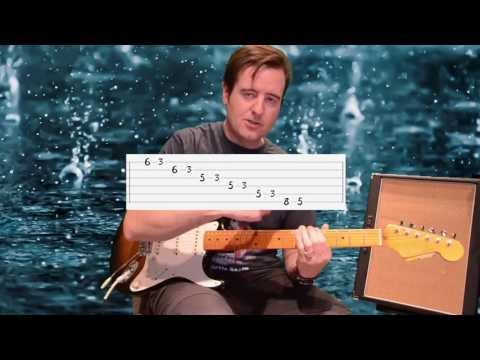 Covered In Rain(live) - John Mayer - Part 1(song body) - Guitar Lesson with TAB