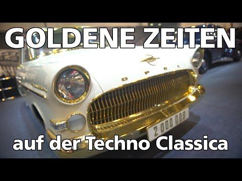 Klappe, die 2.000.000ste: Der Opel Kapitän auf der Techno Classica