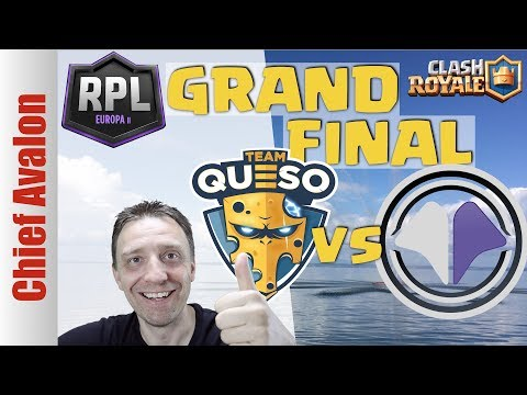 WHO IS THE EUROPEAN CLASH ROYALE CHAMPION? | TEAM QUESO vs MILLENIUM | RPL EUROPE II GRAND FINAL