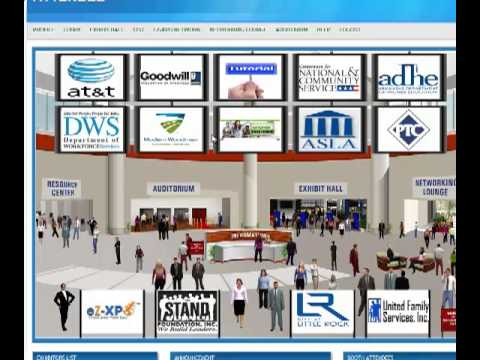 Virtual Job Fair Tutorial - Job Seeker - YouTube