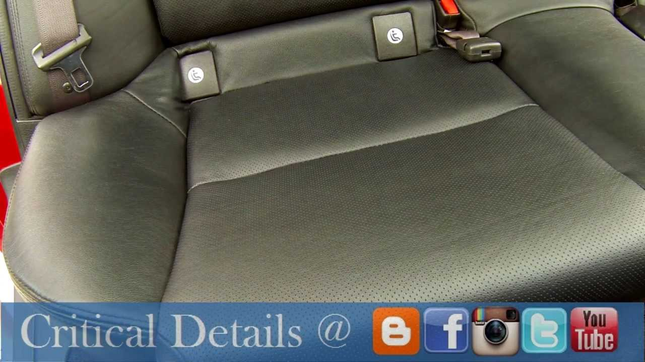 interior auto detailing tips how to clean leather critical details vermont 05478 youtube. Black Bedroom Furniture Sets. Home Design Ideas