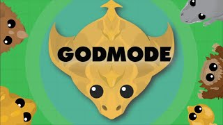 INVINCIBLE BLACK DRAGON - Godmode in Mope.io (Mope.io glitch)