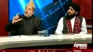 MUFTI HANEEF QURESHI IN EXPRESS NEWS CHANNEL KAL TAK TALK SHOW 5 DEC 2011