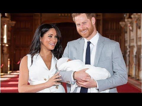 Принц Гарри и Меган Маркл впервые показали новорожденного сына