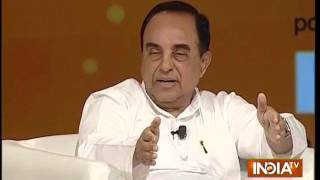 India TV Samvaad: Subramanian Swamy Says Ram Mandir Construction to Begin by 2016 End