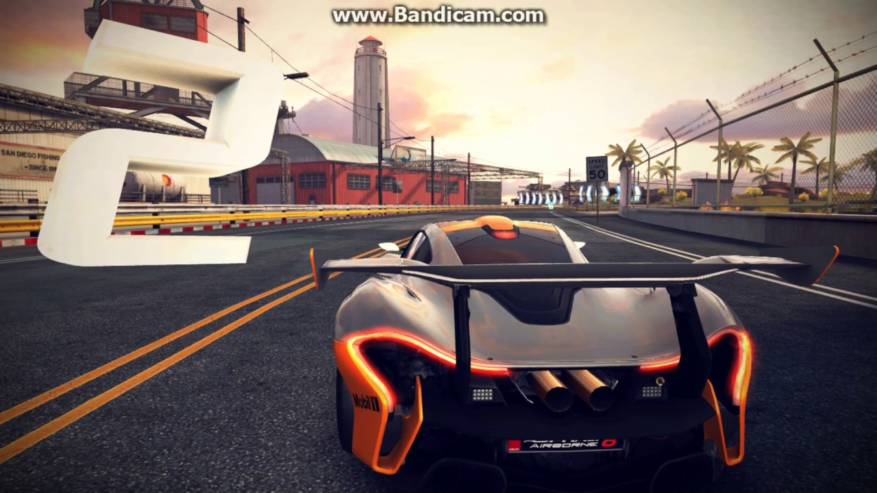 asphalt 8 mclaren p1 gtr san diego harbor youtube. Black Bedroom Furniture Sets. Home Design Ideas