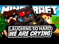 Minecraft: Laughing So Hard We're Crying (Funny Moments)