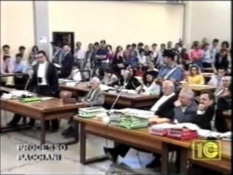 mostro di firenze -  Giuseppe Bevilacqua - testimonianza al processo