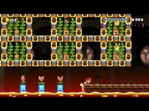 MARIO SUPERSTAR SPEEDRUN~90sec's: Beating Super Mario Maker's Hardest Levels!