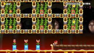 MARIO SUPERSTAR SPEEDRUN~90sec's: Beating Super Mario Maker's Hardest Levels!