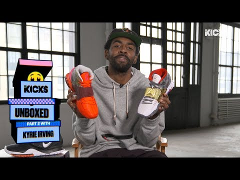 Kyrie Irving on 'Unboxed' with B/R Kicks: An Exclusive Look at the Kyrie 6