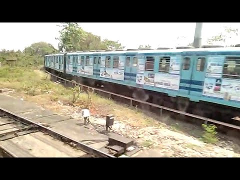 Kolkata Metro Railway meets Surface Railway | Indian Railways thumbnail
