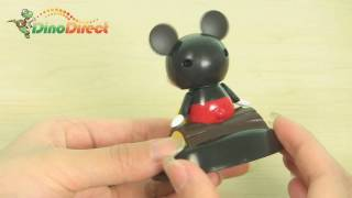 Mini Mickey Shaped Solar Powered Shaking and Nodding Toy - dinodirect