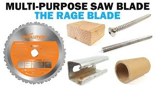 Evolution Multi Purpose Rage Blade Demonstration | Fasteners 101 Demo