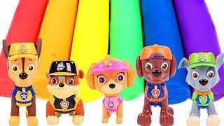 Paw Patrol Play Doh Figures - NUEVOS Patrulla de Cachorros Plastilina Colores Para Niños