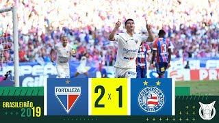 FORTALEZA 2 X 1 BAHIA - Melhores Momentos - Brasileirão 2019 (08/12)