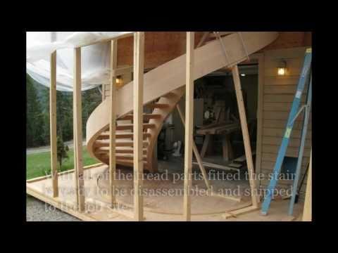 Custom Spiral Staircases by Zane Smith