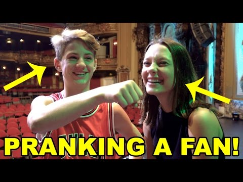 Pranking a FAN... Gone Wrong?  You Decide!