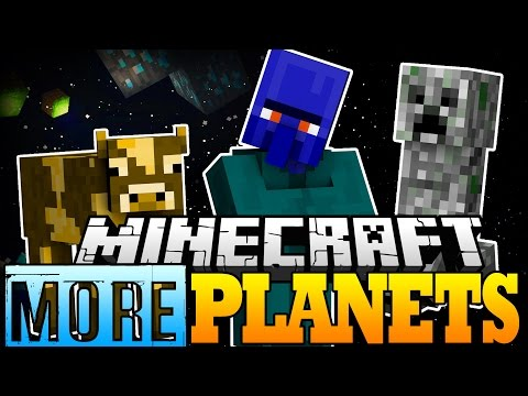 Minecraft Mod | MORE PLANETS MOD! (Adventure Outside the Galacticraft Milky Way!) - Mod Showcase