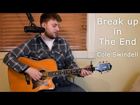 Break Up in the End - Cole Swindell - Guitar Lesson - Beginner/Intermediate - Intro/Verse/Chorus